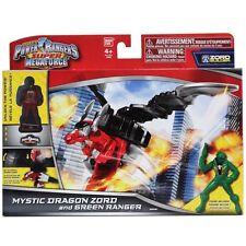 Power Rangers Super Megaforce Mystic Dragon Zord, Green Ranger and ranger key