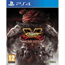 Street Fighter V Arcade Edition PS4 Game PAL Version New & Sealed Aussie Seller