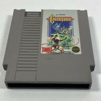 Castlevania Nintendo NES Vintage Classic Original Game Cartridge Tested Working
