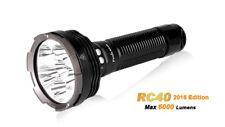 Fenix RC40 Linterna con Pack batería 7800mAh,6000 Lumen,Cargador,COCHE Adaptador