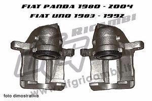 PINZE FRENO FIAT UNO - PANDA DX + SX - 792284-792285 RIMBORSIAMO RESO CARCASSA