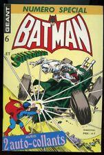 BATMAN GEANT N°6. EDITIONS SAGEDITION. 1977.