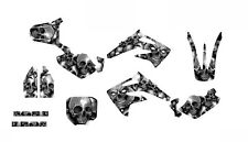 CR85 graphics for Honda 2003-2013 custom mx sticker kit  #5555 Metal Boneyard