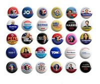 Democrat Campaign Button Collectors Set of 30 (DEM-30-001)