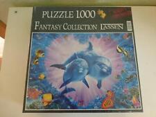 "2x NEU !!!PUZZLE : The art of Lassen "" Lover Reef "" + ""Flipper""- je 1000 Teile"