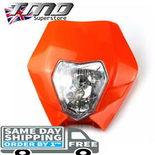 KTM Universal Headlight Motorcycle Enduro Motorbike Light Bike Pitbike E Marked