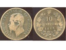 ITALY  ITALIE  10 centesimi  1866 N   ( aus )