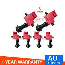 Ignition Coil Pack Packs For Nissan Skyline R33 RB25 R34 RB26 S2 M Pack of 6