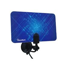 Thin Indoor HDTV Antenna Receives Over the Air HD and VHF/UHF Digital Channels