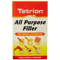 Tetrion All Purpose Filler WHITE Interior & Exterior Smooth Finish - 500g Bag