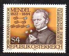 Austria / Oostenrijk - 1984 Gregor Mendel (botanist) Mi. 1763 MNH