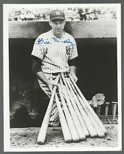 Bill Dickey New York Yankees Signed Auto 8x10 Photo Autograph