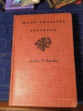 Man's Physical Universe Arthur T. Bawden Science Survey College 1939 Rare Book Z