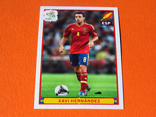 308 XAVI HERNANDEZ ESPAGNE ESPAÑA  FOOTBALL PANINI UEFA EURO 2012