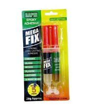 Rapid Epoxy Adhesive Mega Fix Fast Setting Glue Ceramic,Glass,Leather,Wood Etc