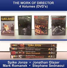 4 DVD Work Director Jonathan Glazer Spike Jonze U2 Bjork NIN Red Hot Jay Z Beck