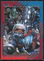 2015 Fleer Retro Marvel Trading Card #43 Rocket Raccoon
