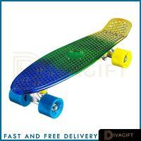 "PENNY CRUISER SKATEBOARD SKATER BOARD CHROME TRICK SKATING PLASTIC 22"""
