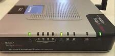 T Mobile Linksys WRTU54G TM WirelssG Broadband Router 2Phone Ports HOT SPOT