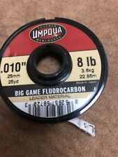 Umpqua Big Game Flurocarbon Leader Material 8lb