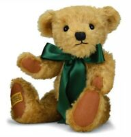 Merrythought 14 inch Shrewsbury Teddy Bear Golden Mohair w/ Growler - US Seller!
