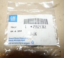 New ListingGenuine Gm 25521361 Engine Camshaft Plug