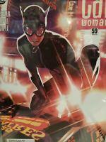 Catwoman # 59 CGC 9.8 ADAM HUGHES COVER