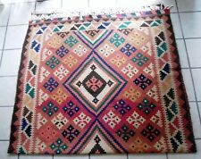 "Made in England: Handmade Heavyweight Wool Rug from England, 2005 (64x120"") $950"