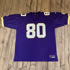 Vintage Cris Carter Minnestoa Vikings Jersey Nike Purple NFL Football 2XL