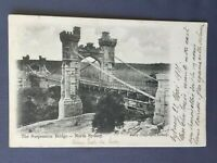 ±1905 Postcard AUSTRALIA SYDNEY THE SUSPENSION BRIDGE - Edit. Kerry
