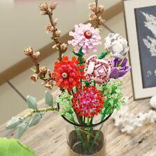 -655002 Bausteine Kreativ Blühen Dekorativer Blumenstrauß OVP 1237PCS