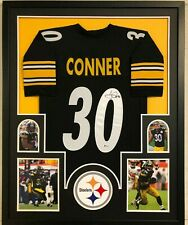 FRAMED PITTSBURGH STEELERS JAMES CONNER AUTOGRAPHED SIGNED JERSEY BECKETT COA