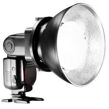 Neewer Beauty Dish Reflektor Diffusor Schirm mit Bowens Montage Gold Silber Wei?