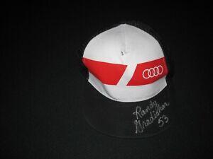 RANDY GRADISHAR AUTOGRAPH HAT- Audi Hat ~ 7515