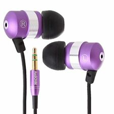 GOgroove Earbuds Earphones Premium In-Ear Headphones with Noise Isolation for MP
