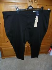 BNWT M&S Womens Size 32 Black High Rise Skinny Curve Jeans
