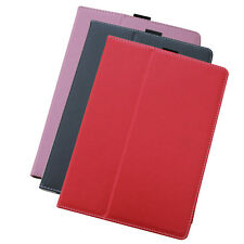 iPad Air 1 & 2 (2014-18) - Leather Case Cover - Black, Red, Pink