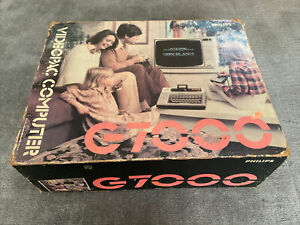 Philips G7000 Videopac Computer Boxed Excellent Condition With One Game