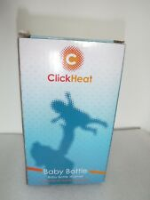 click heat bottle warmer in box new