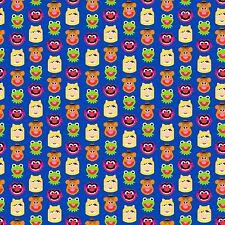1 yard Disney Emojiland Muppets Friends Fabric