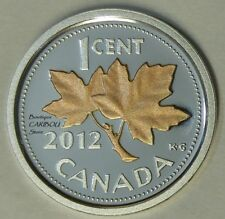 2012 Canada Silver Proof 1 Cent