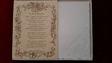 Grandma Hankie Handkerchief Wedding Poem Gift Keepsake Bride Granddaughter BH108