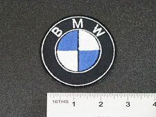 BMW EMBLEM ORIGINAL BLUE WHITE CAR MOTORCYCLE BIKER RACING PATCH - MADE IN USA