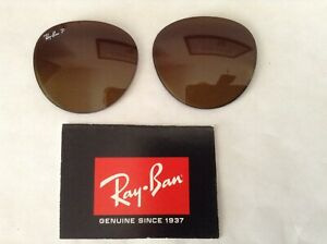 Authentic New RayBan RB4305 53MM Brown Gradient Polarized Replacement  Lenses
