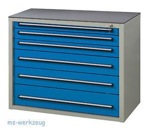 AKTION Dringenberg Schrank B7 800/6 Schubladenschrank VA