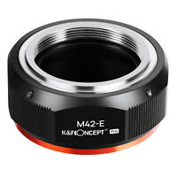 K&F Concept Adapter Pro for M42 Screw Lens to Sony E Mount Camera NEX a7R2 A7R3