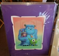 Epcot 2019 Festival Of Arts Disney Monsters Boo Sulley Mike Tercek Print Parks