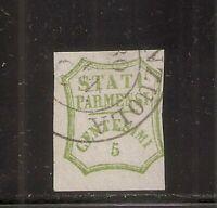 1859 ITALY PARMA SA#13, 5c VERDE GIALLO USED $79000.00, 3 CERTIFICATES