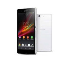 "5.0"" Sony Ericssion Xperia Z C6603 4G LTE 16GB White Unlocked Android Cellphone"