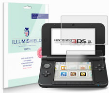 iLLumiShield Matte Screen Protector w Anti-Glare/Print 3x for Nintendo 3DS XL